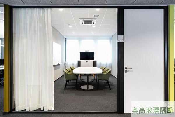 钢制单层防火玻璃墙
