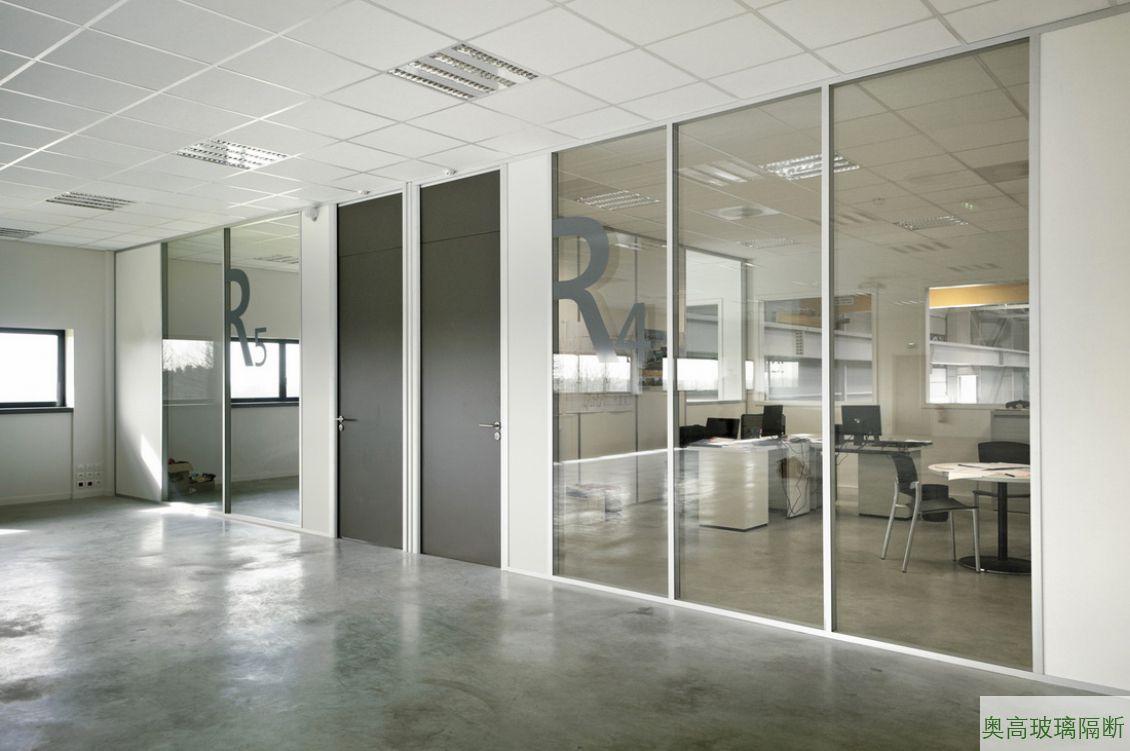 工厂高档玻璃隔墙