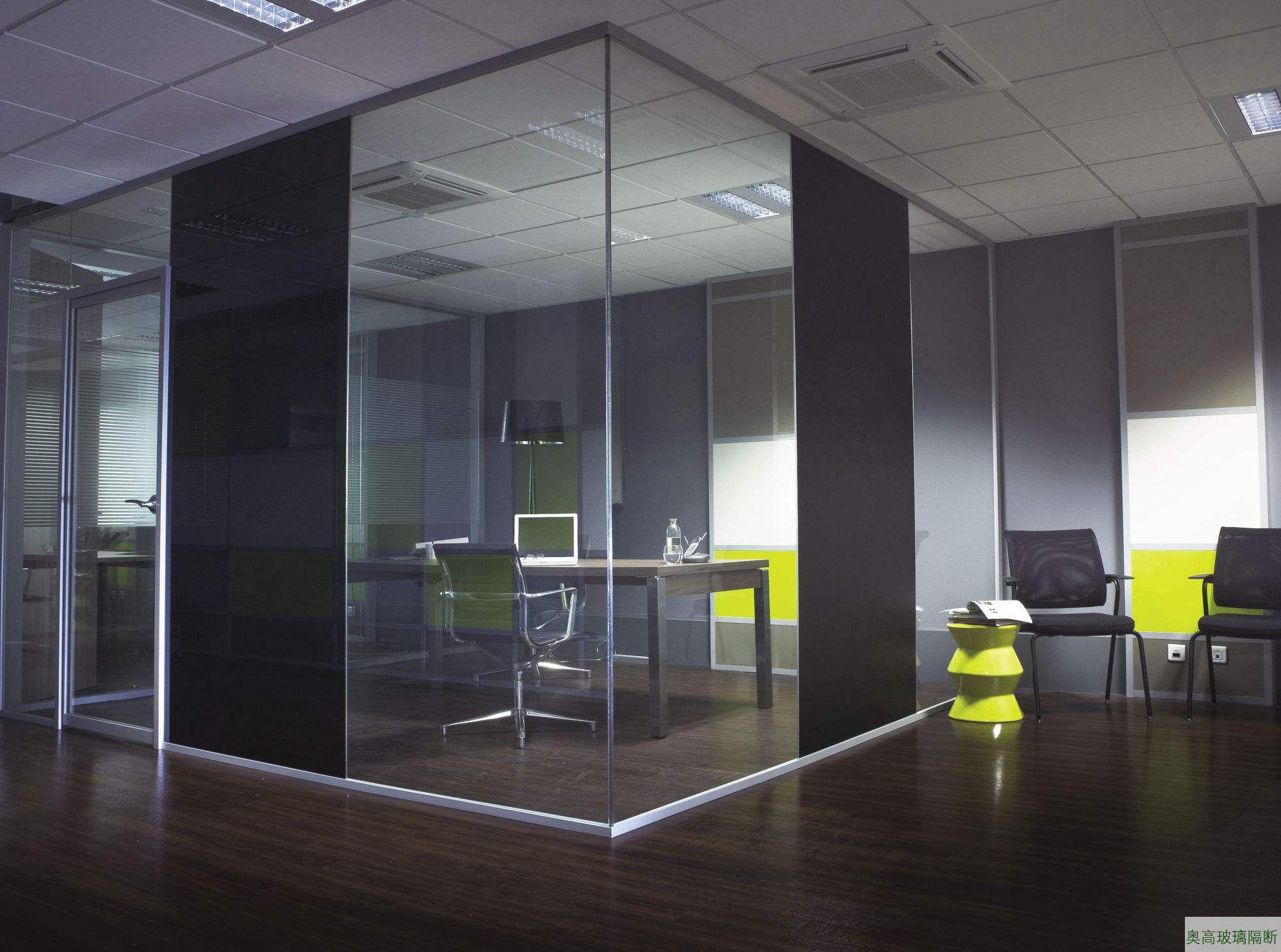 板加玻璃成品隔间